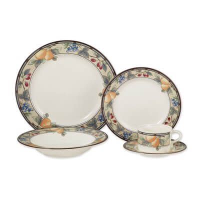 Mikasa Weston Oval Platter White