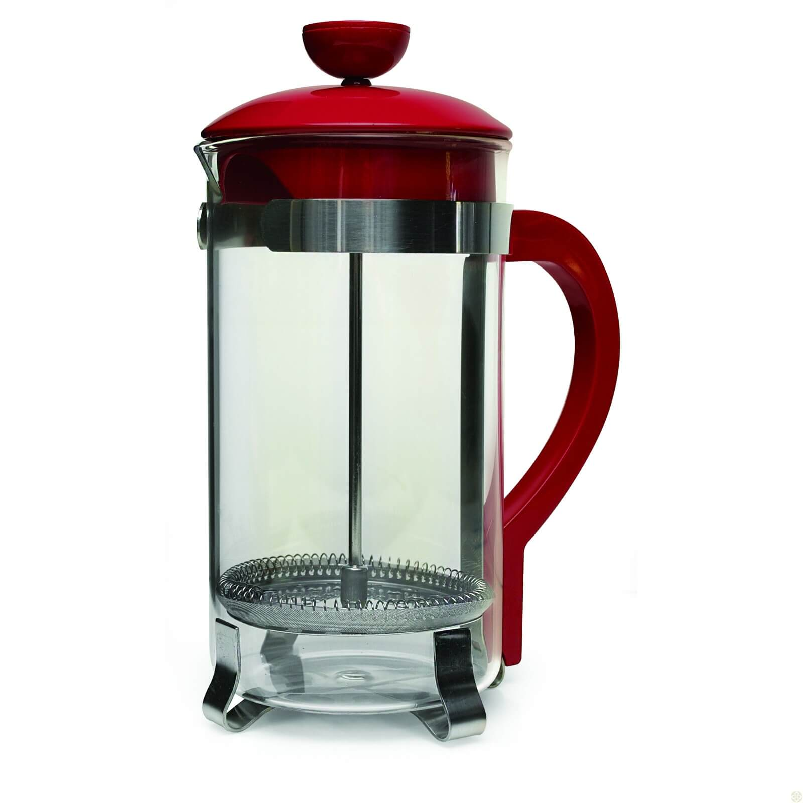 2d19489a7733 Classic Coffee Press 8 cup - Red