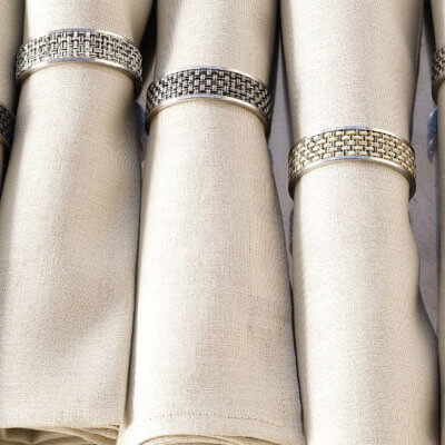 Napkins + Rings
