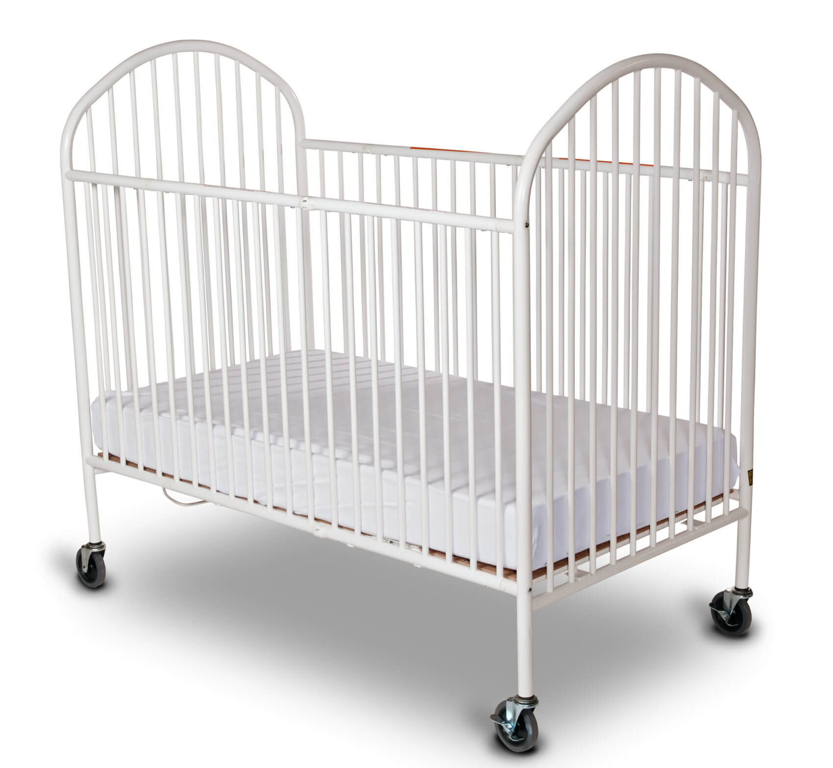 pinnacle full size folding crib mattress not included. Black Bedroom Furniture Sets. Home Design Ideas
