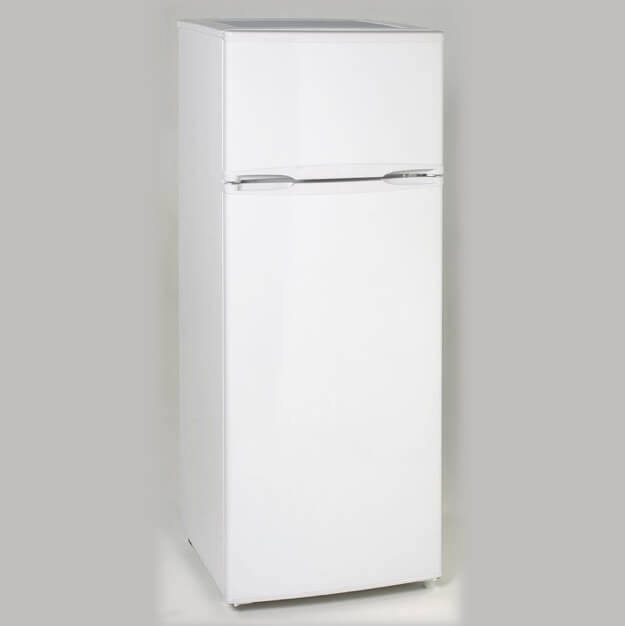 Apartment Guide App: 7.4 CF Two Door Apartment Size Refrigerator - White