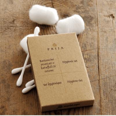 Prija Packaged Amenity Kits + Accessories