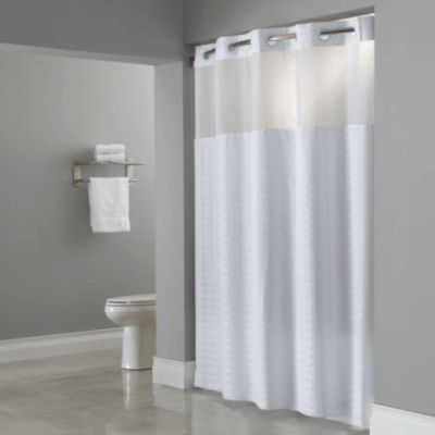 Shower Curtains + Rods