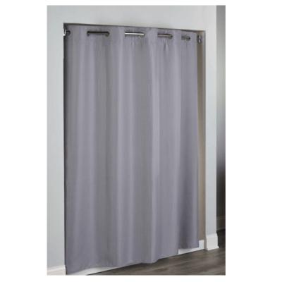 Hudson Diamond Waffle Full Panel Shower Curtain