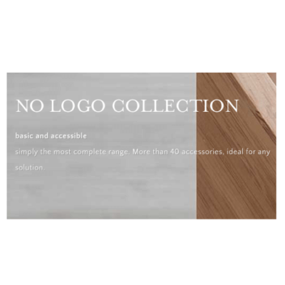 No Logo Accessory Collection