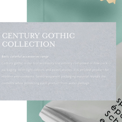 Century Gothic Accessory Collection