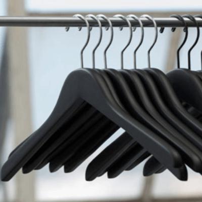 Flat Wood Hangers