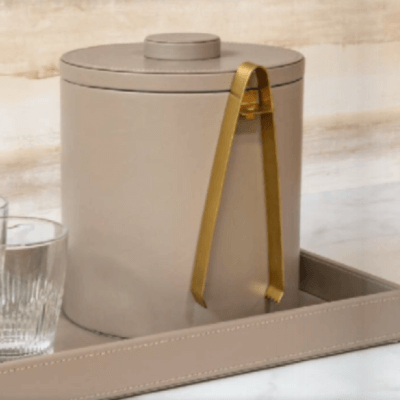 London Bar Accessories in Stone