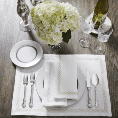 Table Linen + Accessories